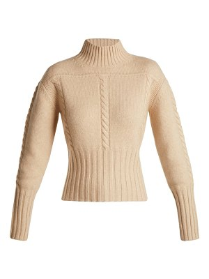 Khaite Maude Cable Knit Cashmere Sweater