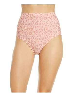 KNIX essential scallop high rise panties