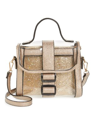 KNOTTY translucent top handle satchel