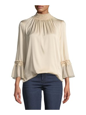 KOBI HALPERIN Nadia Stretch-Silk Blouse