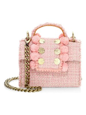 Kooreloo petite pom-pom shoulder bag