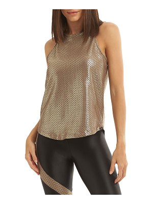 Koral Activewear Aerate Brillian Netz Shiny Active Tank