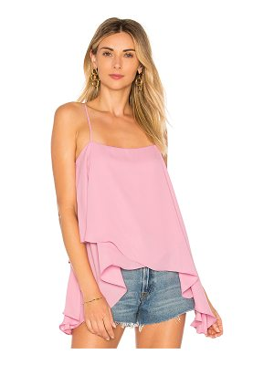 krisa High Low Cami Top