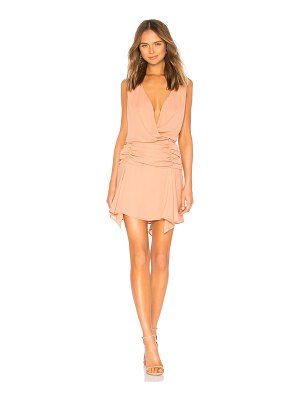 krisa Surplice Tank Dress