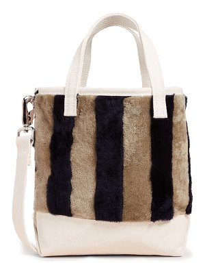 Kule the shearling tote