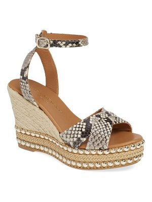 Kurt Geiger London amelia ankle strap wedge