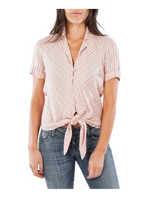 KUT from the Kloth penelope tie front shirt
