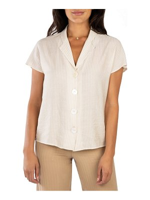 KUT from the Kloth vera stripe blouse
