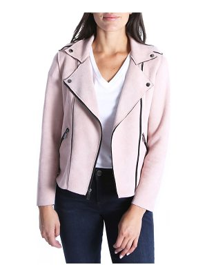 Kut Kollection haddie faux suede moto jacket