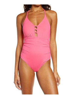 La Blanca laddered mio one-piece swimsuit