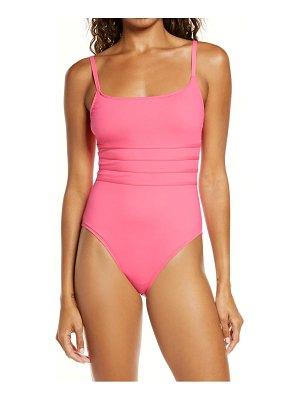 La Blanca strappy mio one-piece swimsuit