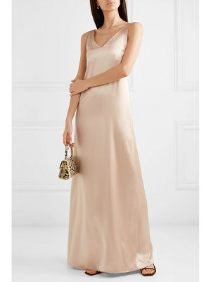La Collection grace silk-satin maxi dress