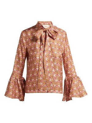 La DoubleJ happy wrist bell sleeve blouse