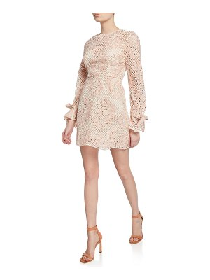 La Maison Talulah Elixir Long-Sleeve Mini Dress
