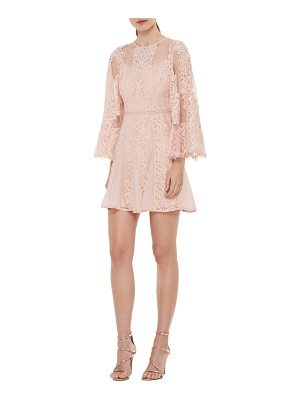 LA MAISON TALULAH Lust Over Bell Sleeve Lace Dress