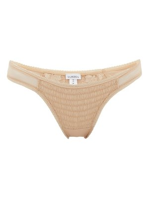 La Perla lapis leavers lace brazilian briefs