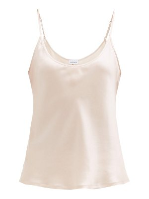 La Perla scoop-neck silk-charmeuse camisole