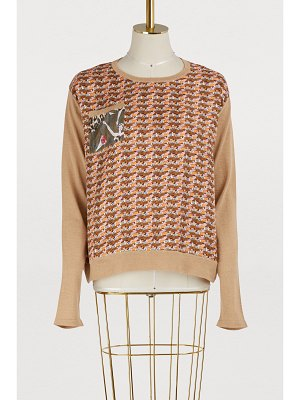 La Prestic Ouiston Kiss and love printed sweater