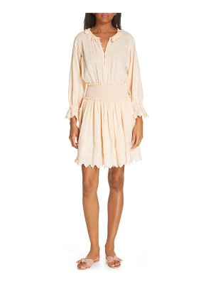 La Vie by Rebecca Taylor embroidered check print dress