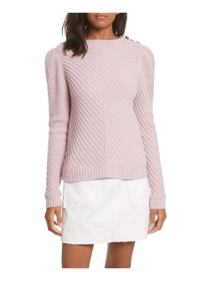 LA VIE BY REBECCA TAYLOR Ribbed Knit Pullover
