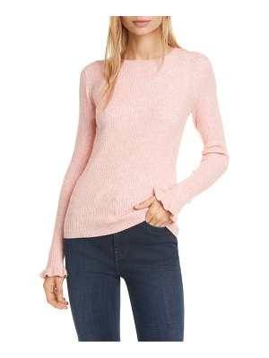La Vie by Rebecca Taylor ribbed long sleeve sweater