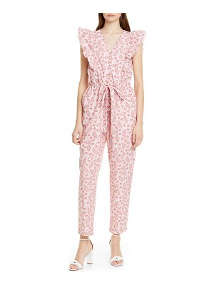 La Vie by Rebecca Taylor wave paisley cotton jumpsuit