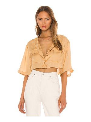 L'Academie the adrien crop top