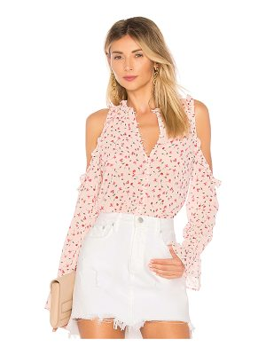 L'ACADEMIE The Bell Button Up Top
