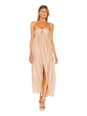 L'Academie the jolena maxi dress