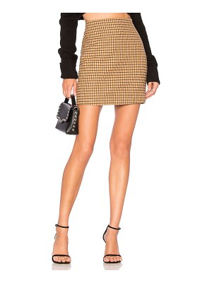 L'Academie The Lana Mini Skirt