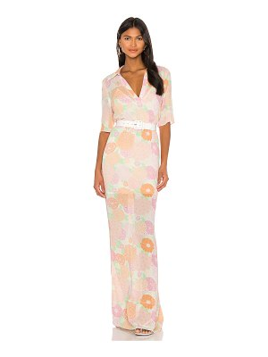 L'Academie the micheline maxi dress