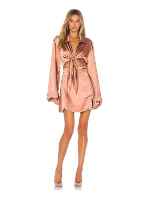 L'Academie the phillipa mini dress
