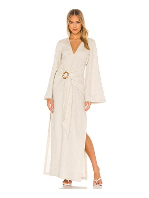 L'Academie the riella maxi dress