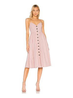 L'Academie The Seraphina Midi Dress