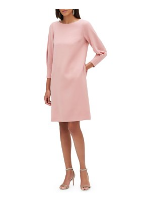 Lafayette 148 New York Caddie 3/4-Sleeve Back-Zip Dress
