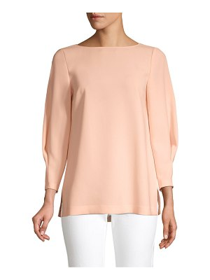 Lafayette 148 New York caddie boatneck blouse