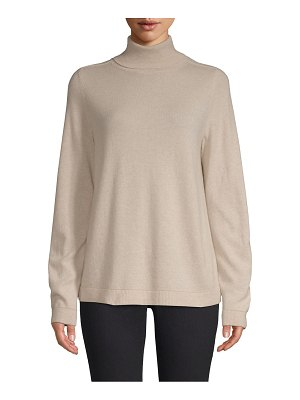 Lafayette 148 New York cashmere turtleneck pullover