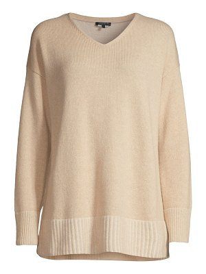 Lafayette 148 New York cashmere v-neck sweater