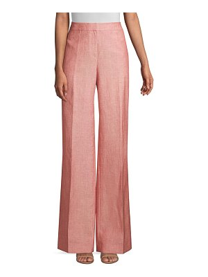 Lafayette 148 New York dalton wide leg pants
