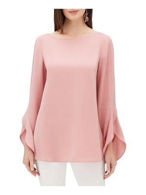 Lafayette 148 New York emory finesse crepe blouse
