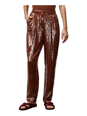 Lafayette 148 New York Franklin High-Rise Sequin Pants