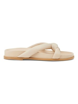 Lafayette 148 New York honore padded leather slides