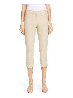 Lafayette 148 New York manhattan skinny capri pants
