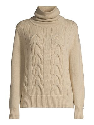Lafayette 148 New York oversized cable-knit cashmere sweater