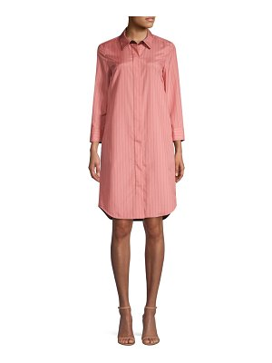Lafayette 148 New York peggy stripe shirt dress