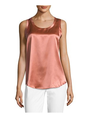 LAFAYETTE 148 NEW YORK Reversible Perla Silk Blouse