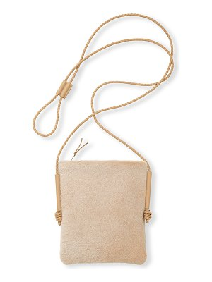 Lafayette 148 New York Shearling Crossbody Bag