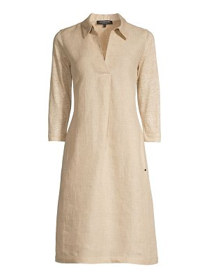 Lafayette 148 New York zac linen shirtdress