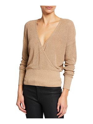 L'Agence Blair Crossover Sweater