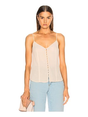 L'Agence Emiliana Button Up Tank